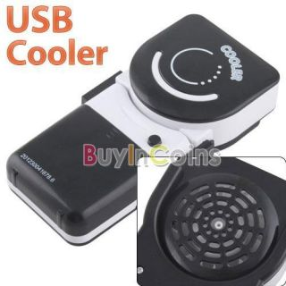 Held USB Mini Smile Face Air Conditioner Cooler Fan Lightweight