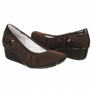 Womens Anne Klein Dax Brown Stretch
