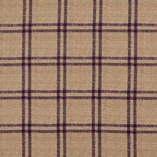 RALPH LAUREN Surrey Garden QUEEN Sheet Set Purple Tattersal
