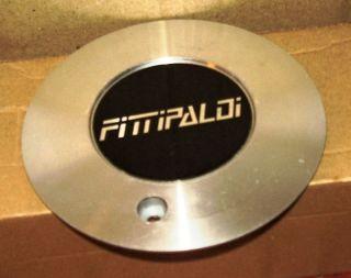 Fittipaldi Wheel Silver Custom Wheel Center Cap Caps 1
