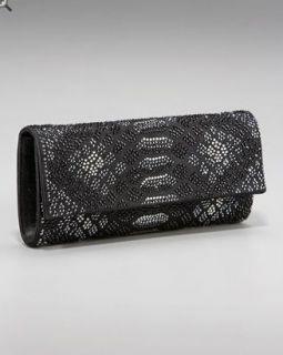Judith Leiber Crytal Python Ritz Fizz Clutch Bag $2895