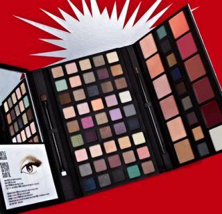 Smashbox Studio Pop Ultimate Palette 45 eyeshadows blushes liners lip