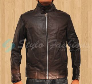 Xmen First Class Michael Fassbender Magneto Slim Fit Brown Real