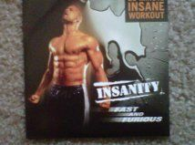 Insanity Fast and Furious DVD by Beachbody
