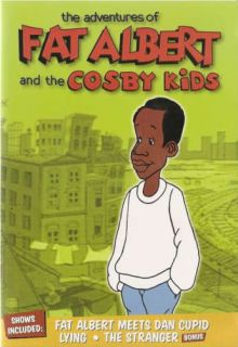 Adventures of Fat Albert and the Cosby Kids Time Life DVD Cupid Lying