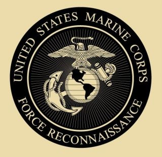 USMC Marines Force Recon T Shirt Tan M XXXL