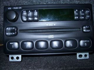 Ford Mustang 03 Stock Car Stereo CD Player