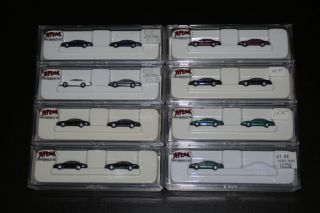 15 N Scale Atlas 1996 Ford Taurus Vehicles Cars City Scenery Accessory