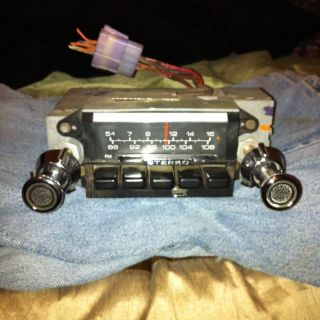 69 70 71 72 73 Ford Cougar Am FM Stereo Radio 73 79 Ford Truck F100