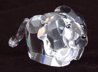 Vintage Signed Swarovski Crystal 887731 Luvlots Lee Roy Lion Figurine