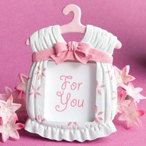 24 baby girl onesie picture frame baby shower favors