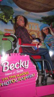1998 IM The School Photographer Becky Barbies Friend in A Wheelchair