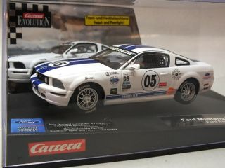 32 Evolution Slot Car Ford Mustang FR500C Ford Racing New