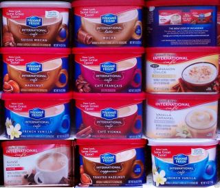 Maxwell House International Flavored Instant Cappuccino Latte Coffee