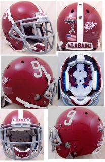 Alabama Crimson Tide Brand New Schutt XP Football Helmet 9