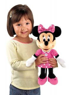 Disney Mickey Sing & Giggle Minnie Mouse Doll Hug & Sing Toy by Fisher