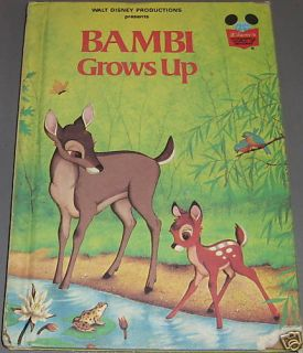 BAMBI GROWS UP 1979 WALT DISNEY PRODUCTIONS