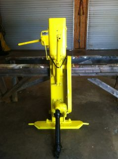 HYDRAULIC FENCE POST DRIVER 3 POINT HITCH PTO DRIVEN DANUSER MD 6