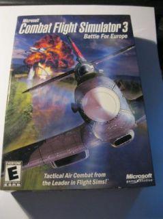 Microsoft Combat Flight Simulator 3 Battle for Europe Computer Game