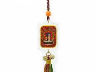 Tibetan Protection Symbol Kalachakra Tenfold Feng Shui Tassel