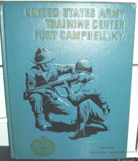 Army Basic Training Book Fort Campbell KY May Jul 1970 Co B 10THBN