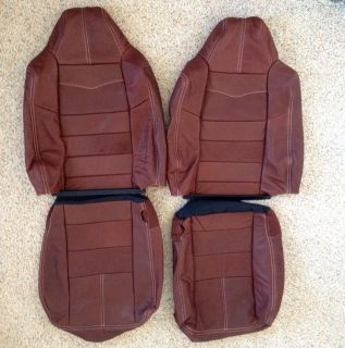 Ford F 250 King Ranch Leather Rear Seat Covers