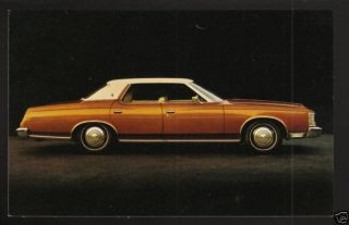 1973 Ford 4 Door Hardtop Car Dealer Postcard Card