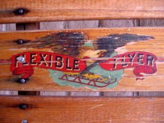 Antique Flexible Flyer Model 60 Airline Racer
