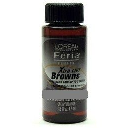 Loreal Feria Professional Hair Color Xtra Lift Browns 5 13 Beige Brown