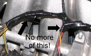 OBD2 to OBD1 Fuel Injector Conversion Harness Honda Civic Integra RC