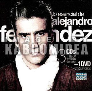 Alejandro Fernandez Lo Esencial 3 CD s DVD New Mexican Set Original