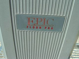S105B Electrolux Epic Floor Pro Polisher Scrubber Cleaner Carpet