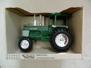 White Farm Equipment Tractor 1 16 Scale Models Spirit of Oliver