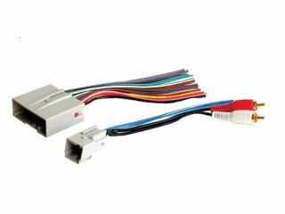 2004 04 Ford Expedition Radio Audiophile Wiring Harness