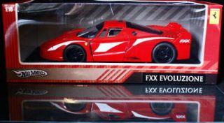 Ferrari FXX Evoluzione Hot Wheels Diecast 1 18 Scale Red