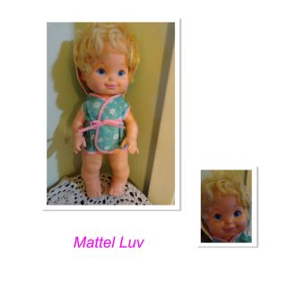 Mattel Baby Tender Love Luv A Bubble