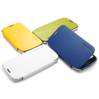 Galaxy S3 s III Ultra Flip Synthetic Leather Folio Pouch Case