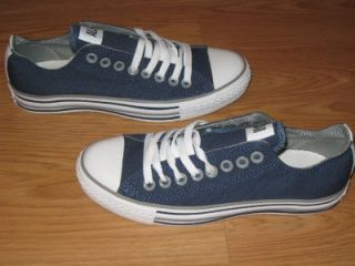 new converse all star ox navy blue white grey kids 5