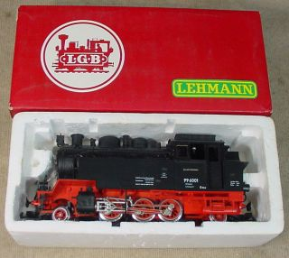 LGB LEHMANN G GAUGE 2080 D HARZ QUERBAHN 996001 2 6 2 STEAM LOCOMOTIVE