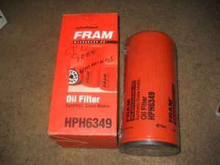 FRAM OIL FILTER HPH6349