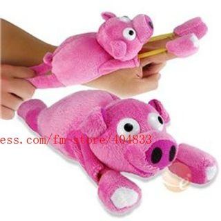 Flying Screaming Pig Plush Toys SLINGSHOT TOY Christmas gifts