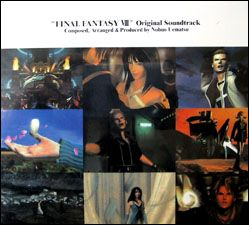 CD Original Soundtrack Final Fantasy VIII 8 PlayStation Game Music