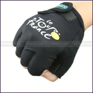 New Bike Cycling Bicycle Half Finger Gloves One Size J