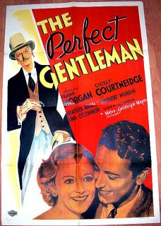 The Perfect Gentleman 35 Frank Morgan Romantic 1 Sht
