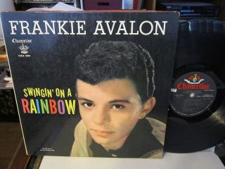 Frankie Avalon   Swingin On a Rainbow RARE CHANCELLOR 5004 W POSTER