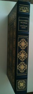 1979 Franklin Mint Library Gullivers Travels by Jonathan Swift Book