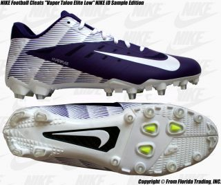 Nike Football Cleats Vapor Talon Elite Low ID Sample 11 29cm Purple