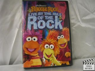 Fraggle Rock Live by The Rule of The Rock DVD 2005 045986258038