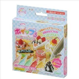 29 Decoration Pen/Source Set Japanese Replica Food Making Kits F/S NIP