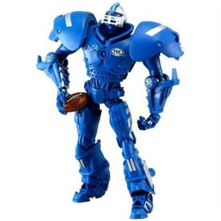 NIB Detroit Lions Team Cleatus NFL Football Team Robot FOX Sports 11